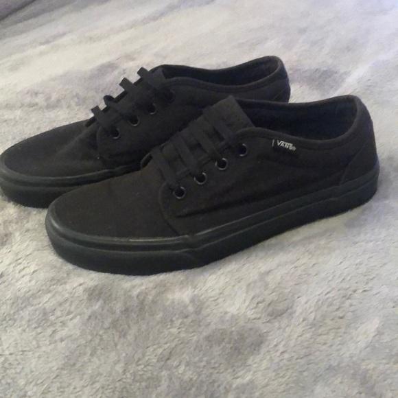 van shoes black